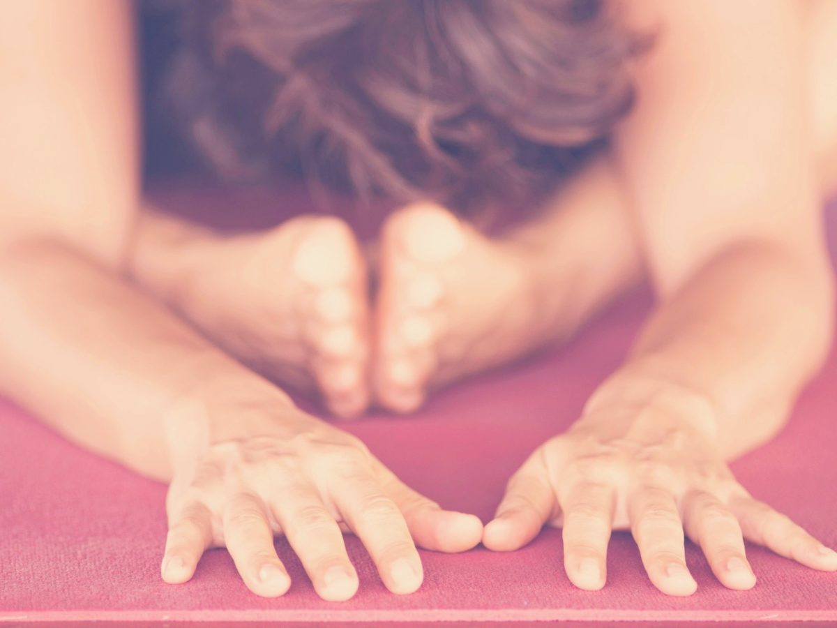 Online-yoga - delta hemifrån