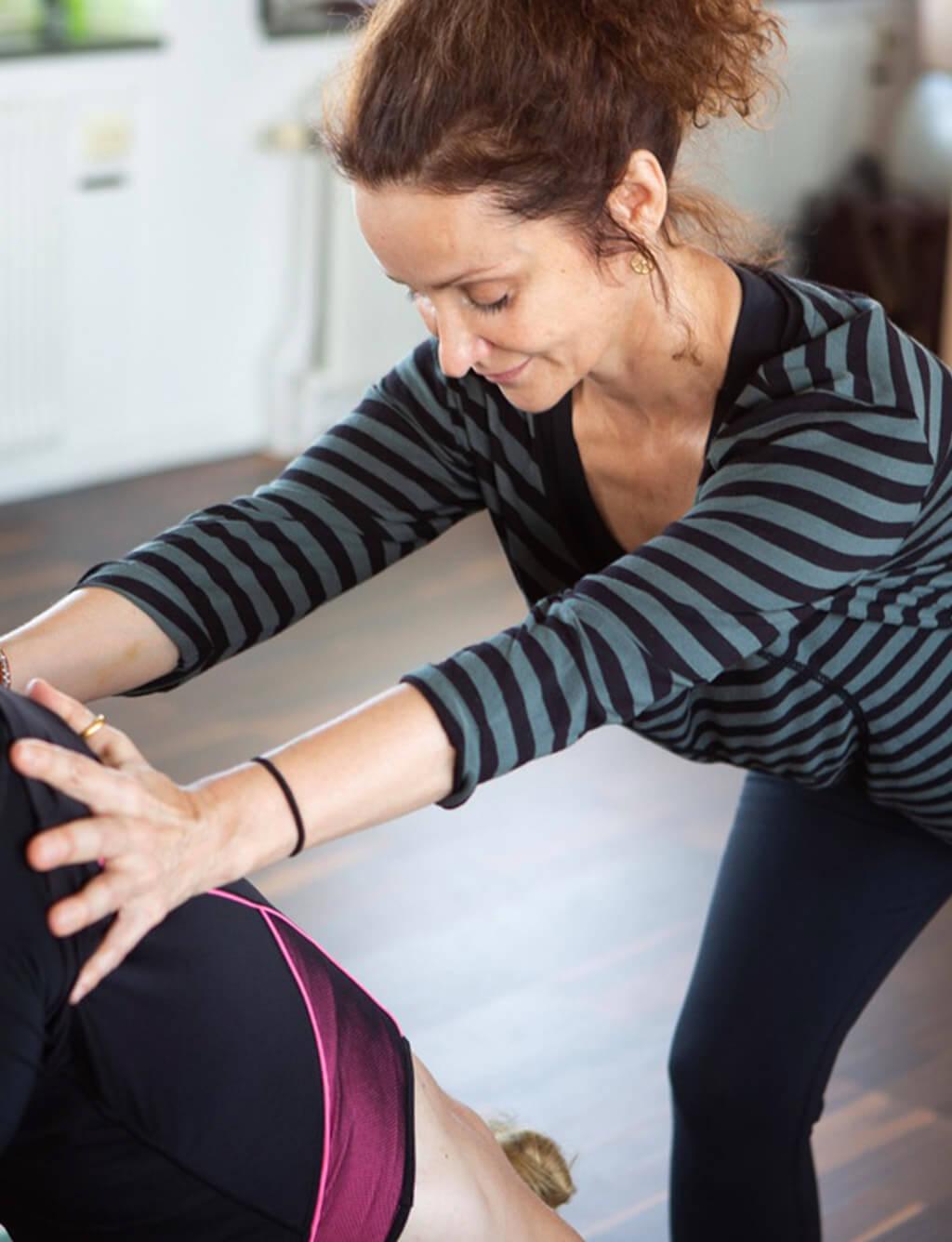 Anne-Lie founder owner main yoga teacher